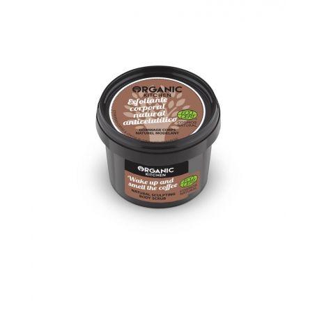 Organic Kitchen Wake up and smell the coffee, Φυσικό απολεπιστικό σώματος κατά της κυτταρίτιδας, 100ml - Natura Siberica