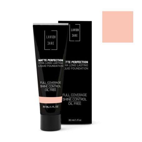 Lavish Care XTRA Long Lasting Liquid Foundation-Matte Perfection -No1 30ml - Lavish Care