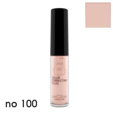 Lavish Care -Color Correcting Fluid - No 100 σε Ροζ Απόχρωση 6ml - Lavish Care