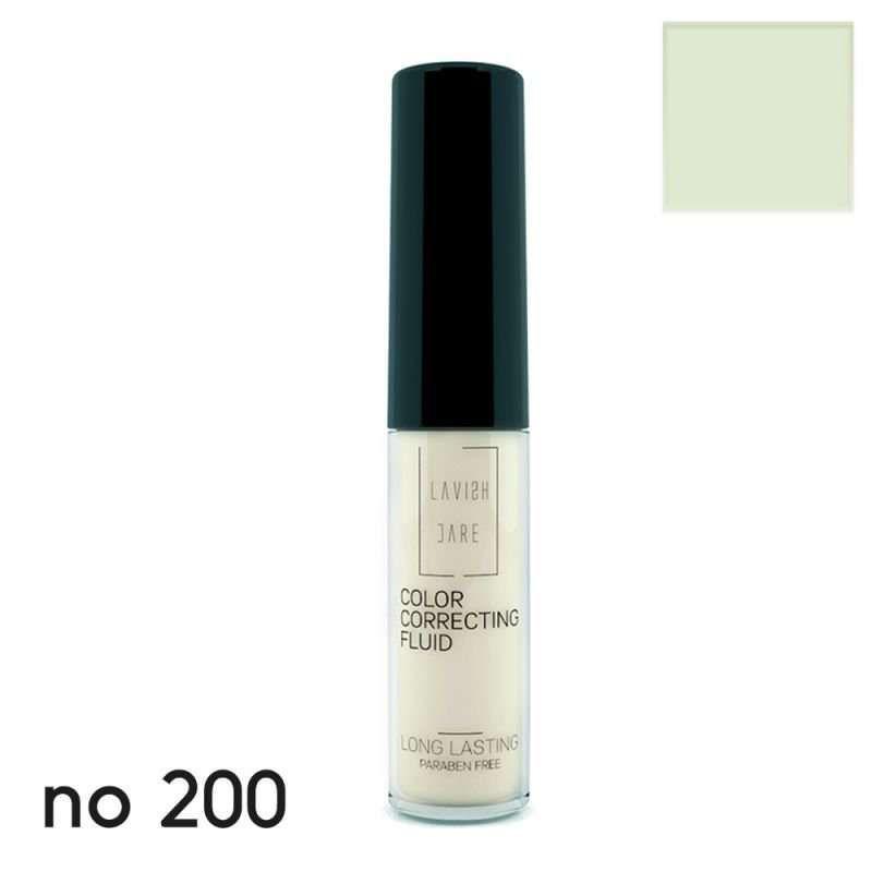 Lavish Care-Color Correcting Fluid - No 200 σε πράσινη απόχρωση 6ml - Lavish Care