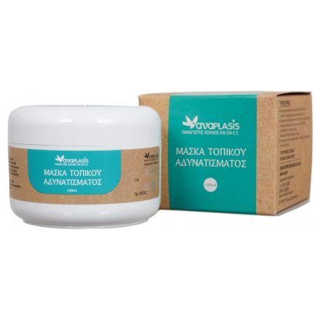 Μάσκα τοπικού αδυνατίσματος -Anaplasis-Melenia Omorfia -Αναplasis- Pharmacystories -Μελένια Ομορφιά