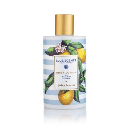 Blue Scents - Γαλάκτωμα Σώματος Juicy Lemon 300ml - Blue Scents
