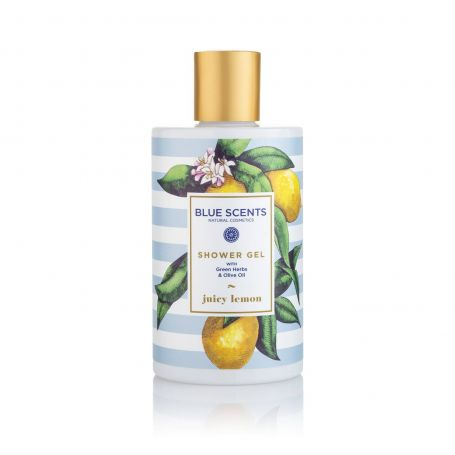 Blue Scents- Αφρόλουτρο Juicy Lemon 300ml - Blue Scents