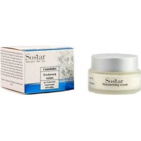 Cannabidiol-Ενυδατική κρέμα προσώπου-Sostar 50ml - Sostar