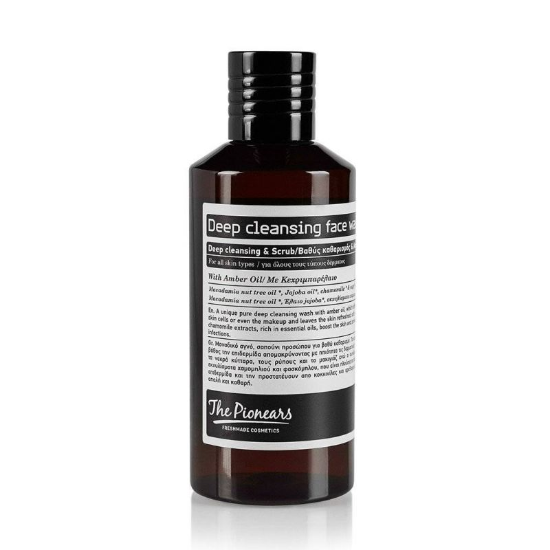 Deep Cleansing Face Wash -The Pionears 200ml - The Pionears