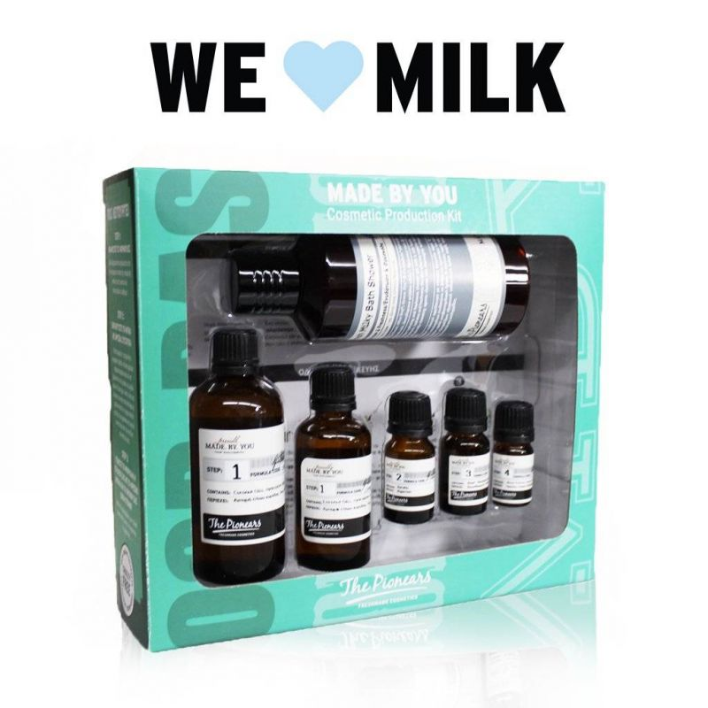 Fresh Milky Bath Shower - Mine - The Pionears 200ml - The Pionears