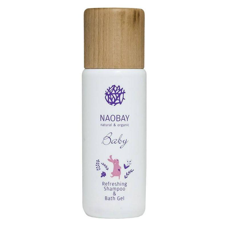 Naobay Αναζωογονητικό Σαμπουάν & Αφρόλουτρο - 200ml - Naobay Natural & Greece