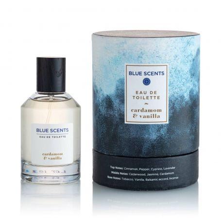 Blue Scents Eau De Toilette Cardamom & Vanilla – 100ML - PharmacyStories