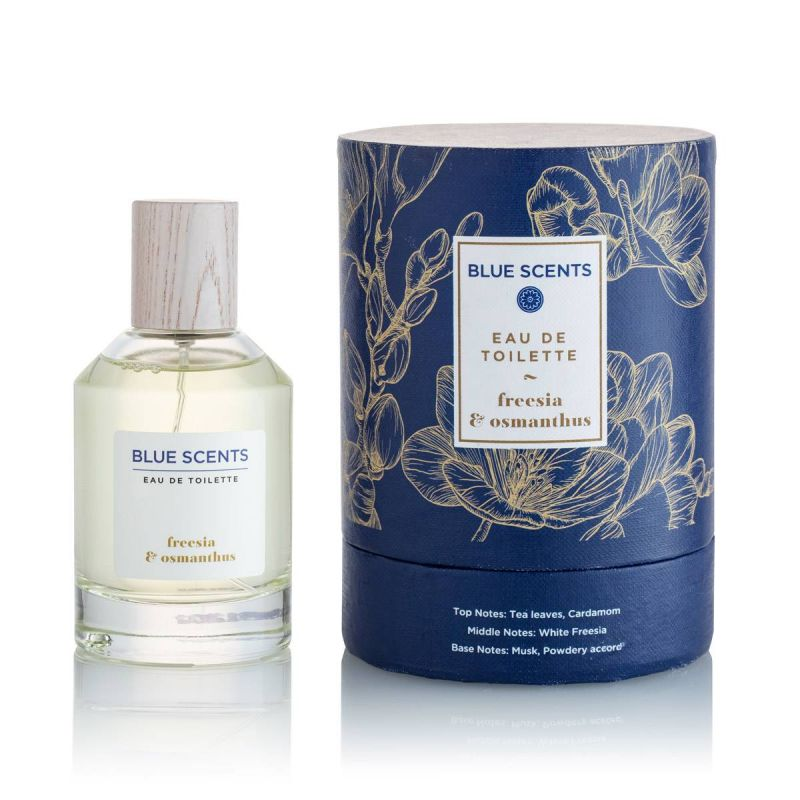 Blue Scents Eau De Toilette Freesia & Osmanthus -100ML - Blue Scents