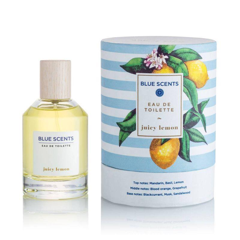 Blue Scents Eau De Toilette Juicy Lemon – 100ml - Blue Scents