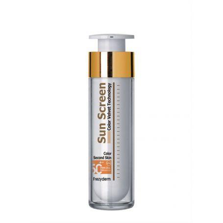 Sun Screen Color Velvet Face Cream Frezyderm SPF 50+ - Frezyderm