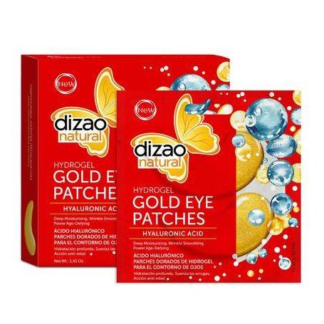 Dizao Natural Hydrogel Μάσκα Ματιών - Υαλουρονικό 100% 1τεμ - Dizao Natural