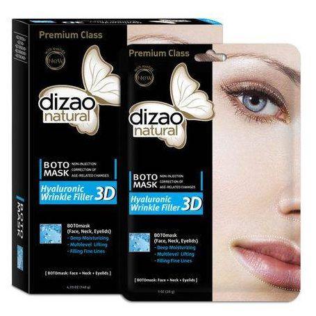 Dizao Natural Hyaloronic Wrinkle Filler 3D Boto Mask 28gr 1τεμ - Dizao Natural