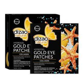 Dizao Natural Hydrogel Μάσκα Ματιών - Κολλαγόνο 100% 1τεμ