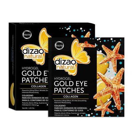 Dizao Natural Hydrogel Μάσκα Ματιών - Κολλαγόνο 100% 1τεμ - Dizao Natural