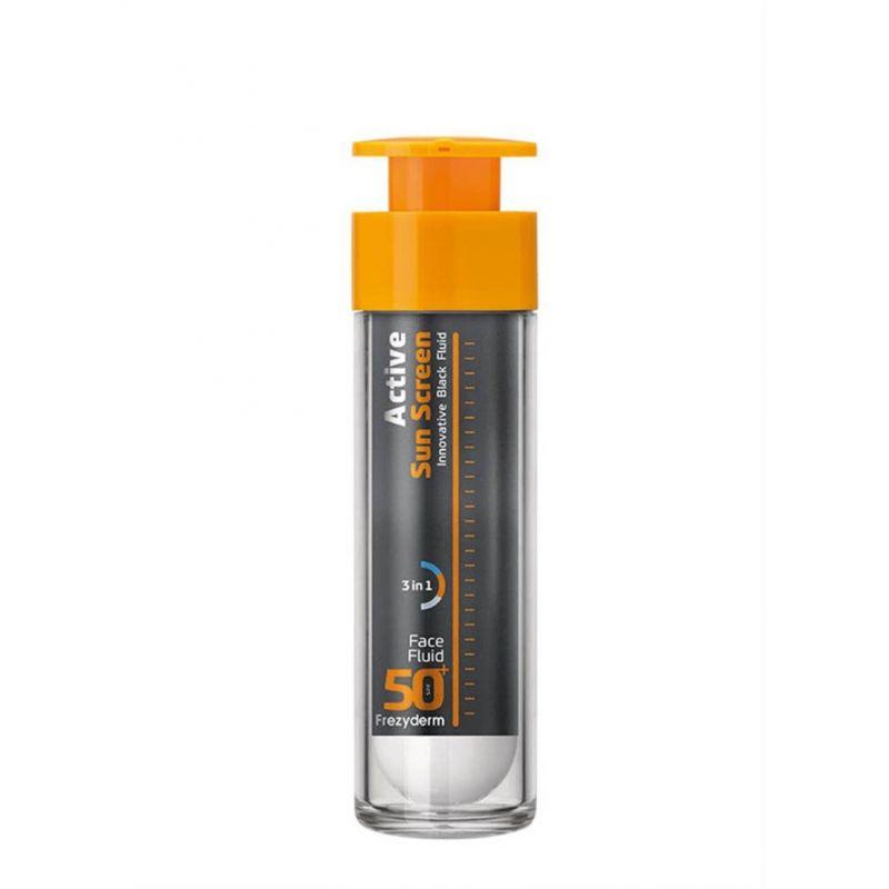 Active Sun Screen Face Fluid SPF 50+ Frezyderm 50ml - Frezyderm