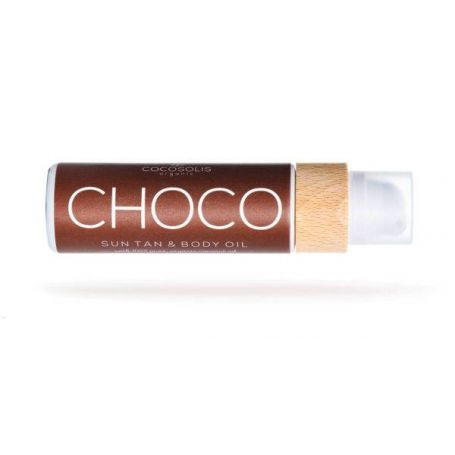 Cocosolis CHOCO Sun Tan Body Oil 110ml-Pharmacystories