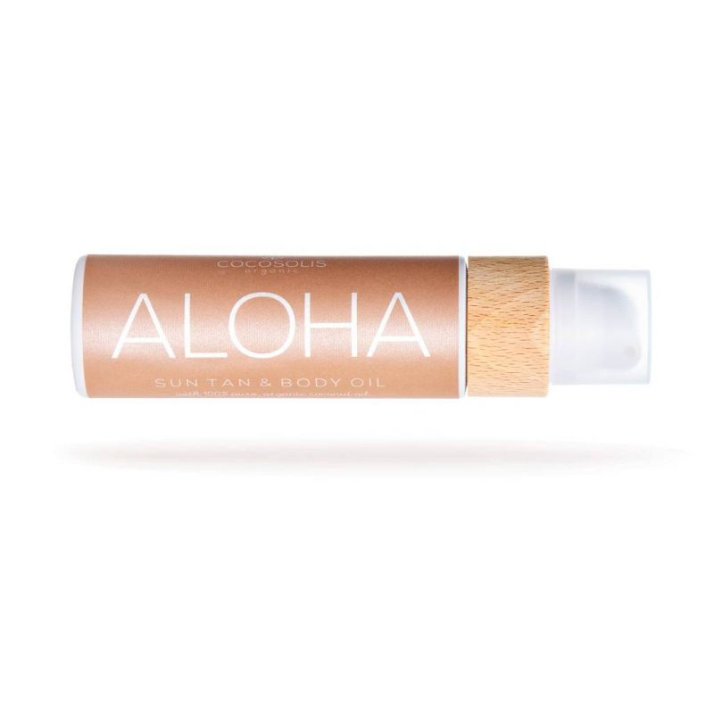 Cocosolis ALOHA Sun Tan Body Oil 110ml - Cocosolis