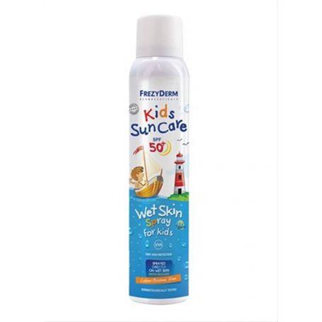 Kids Sun Care SPF 50+ Wet Skin Spray -Frezyderm 200ml - Frezyderm