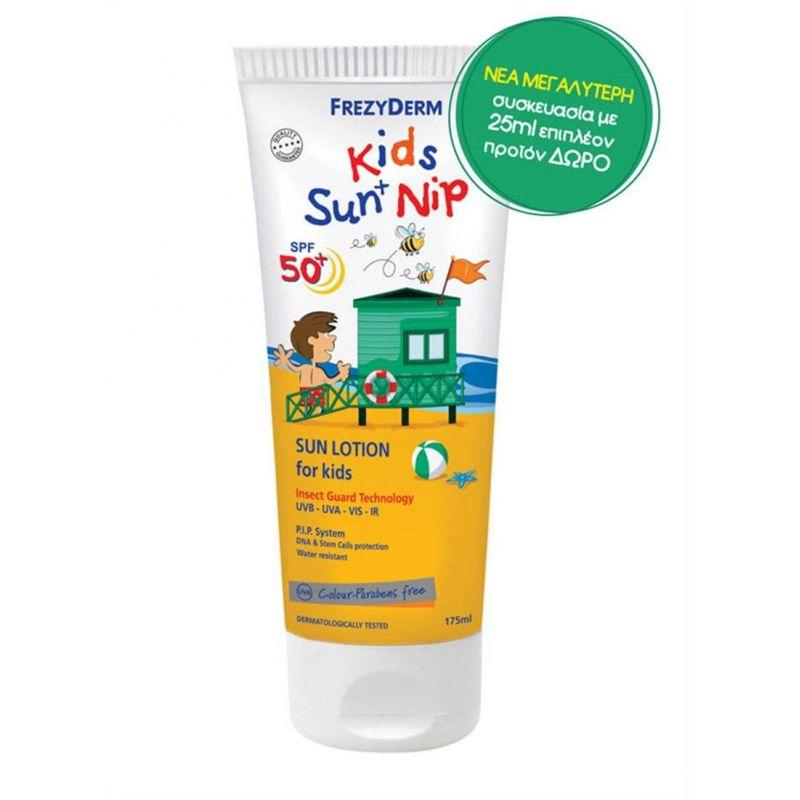 Kids Sun + Nip SPF 50+ Frezyderm 175ml - Frezyderm
