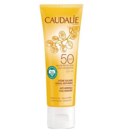 Caudalie Anti-Wrinkle Face Suncare SPF50 Αντιρυτιδικό Αντηλιακό Προσώπου 50ml -pharmacystories