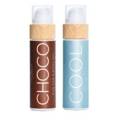 Cocosolis Summer Set Μe Choco Sun Tan Body Oil 110ml + Cool After Sun Oil 110ml - Cocosolis