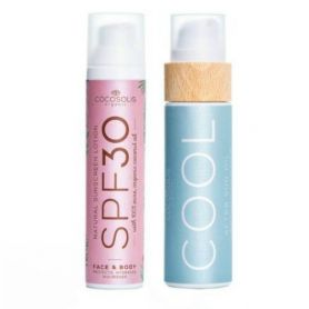 Cocosolis Summer Set με Sunscreen Lotion SPF30 100ml + COOL After Sun Oil 110ml - Cocosolis