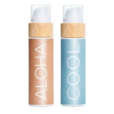 Cocosolis Summer Set με ALOHA Sun Tan Body Oil 110ml + COOL After Sun Oil 110ml-pharmacystories