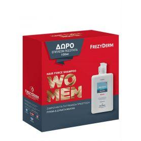 Frezyderm Hair Force Shampoo Women 200ml & 100ml -pharmacystories