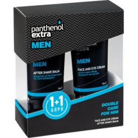 Panthenol Extra Men Face & Eye Cream & After Shave Balm - Panthenol Extra
