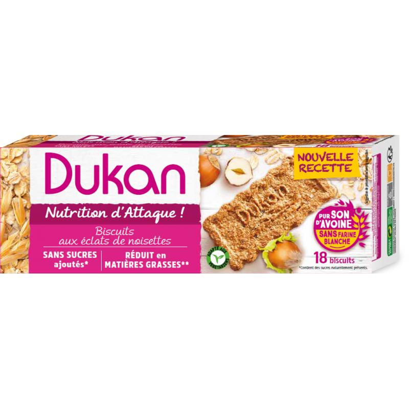 Dukan Μπισκότα βρώμης με γεύση φουντούκι, 225 g - Dukan