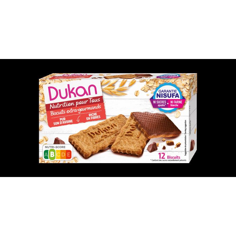 Dukan Μπισκότα βρώμης με επικάλυψη σοκολάτας, 200 g - Dukan
