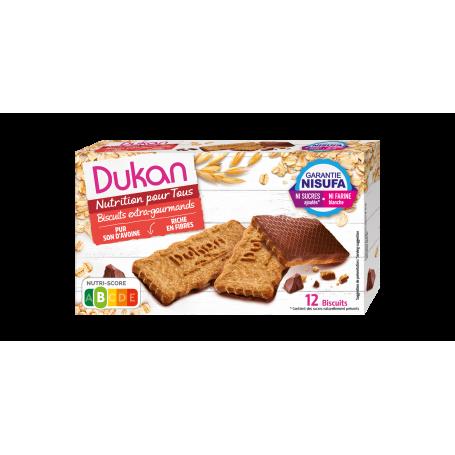Dukan Μπισκότα βρώμης με επικάλυψη σοκολάτας, 200 g -pharmacystories