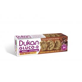 Dukan Μπισκότα βρώμης GLUCO-D με κομμάτια σοκολάτας, 100 g -Pharmacystories