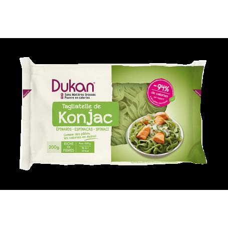 Dukan Konjac Ταλιατέλες με Σπανάκι, 200g - Dukan
