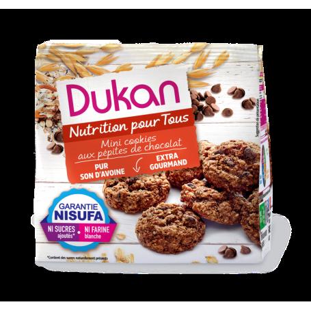 DUKAN Μίνι Cookies βρώμης με κομμάτια σοκολάτας, 100g - Dukan