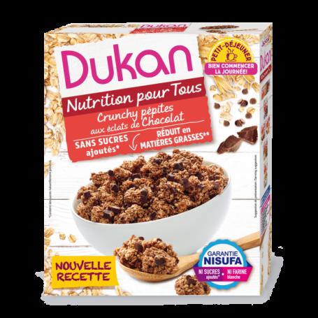Dukan Δημητριακά βρώμης με κομμάτια σοκολάτας, 350g - Dukan