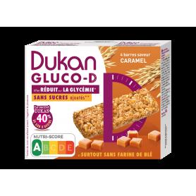 Dukan Μπάρες βρώμης GLUCO-D, με γεύση καραμέλα, 120g