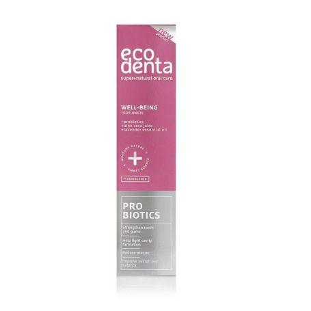 Οδοντόκρεμα προστασίας με Προβιοτικά, Aloe Vera και Έλαιο Λεβάντας 100ml – Ecodenta -pharmacystories