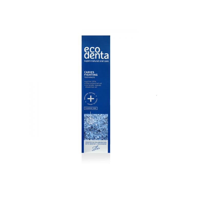 Οδοντόκρεμα κατά της Ουλίτιδας με Ξιλιτόλη, Λάιμ και Κολίανδρο 100ml – Ecodenta - EcoDenta