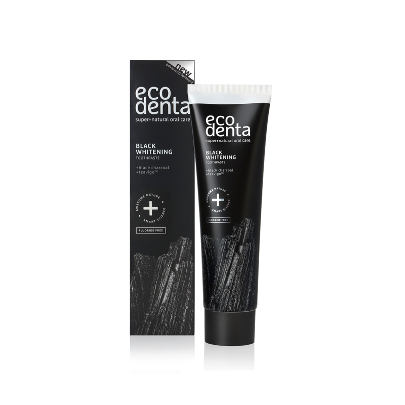 Extra Black Whitening Toothpaste 100ml -Ecodenta - EcoDenta