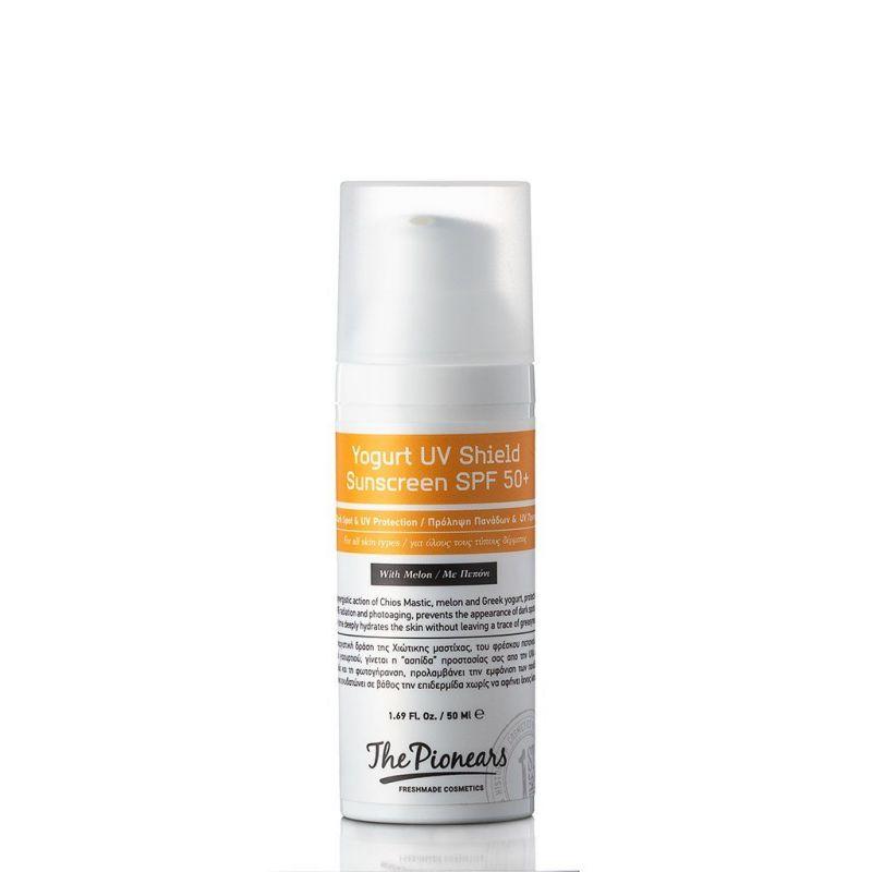 Yogurt UV Shield Sunscreen Spf 50+ 50ml The Pionears - The Pionears