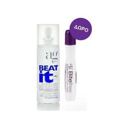 Ag Pharm Beat it Refreshing Body Lotion 100ml & Bite Free Stick 12gr - Ag pharm
