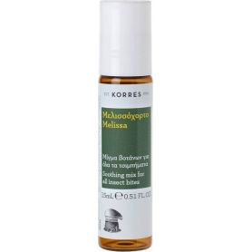 Korres Insect Bite Stick Μελισσόχορτο 15ml - Korres