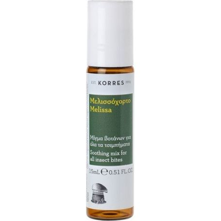 Korres Insect Bite Stick Μελισσόχορτο 15ml - Korres