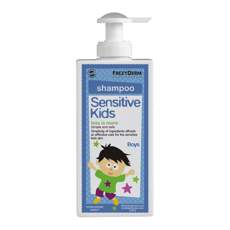 Frezyderm Sensitive Kids Shampoo for Boys 200ml - Frezyderm