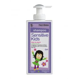 Frezyderm Sensitive Kids Shampoo for Girls 200ml - Frezyderm