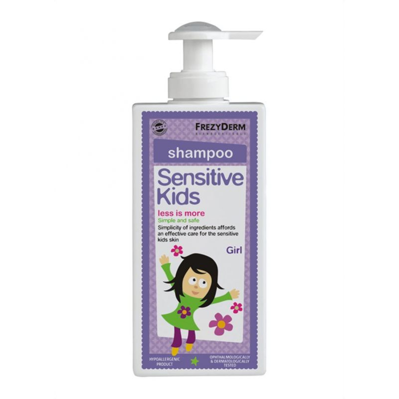 Frezyderm Sensitive Kids Shampoo for Girls 200ml - Frezyderm