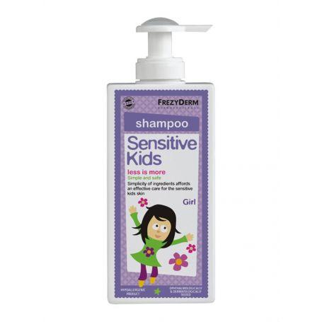 Frezyderm Sensitive Kids Shampoo for Girls 200ml -pharmacystories