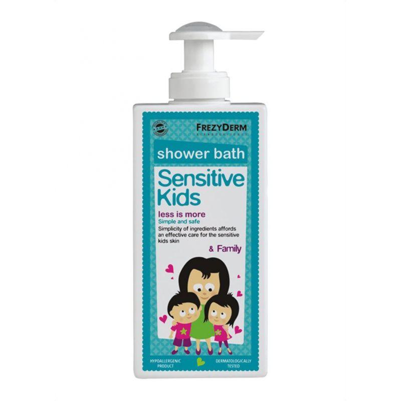 Frezyderm Sensitive Kids Shower Bath 200ml - Frezyderm